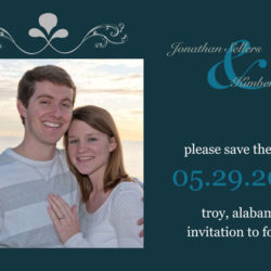 Save The Date - Kim & Jonathan