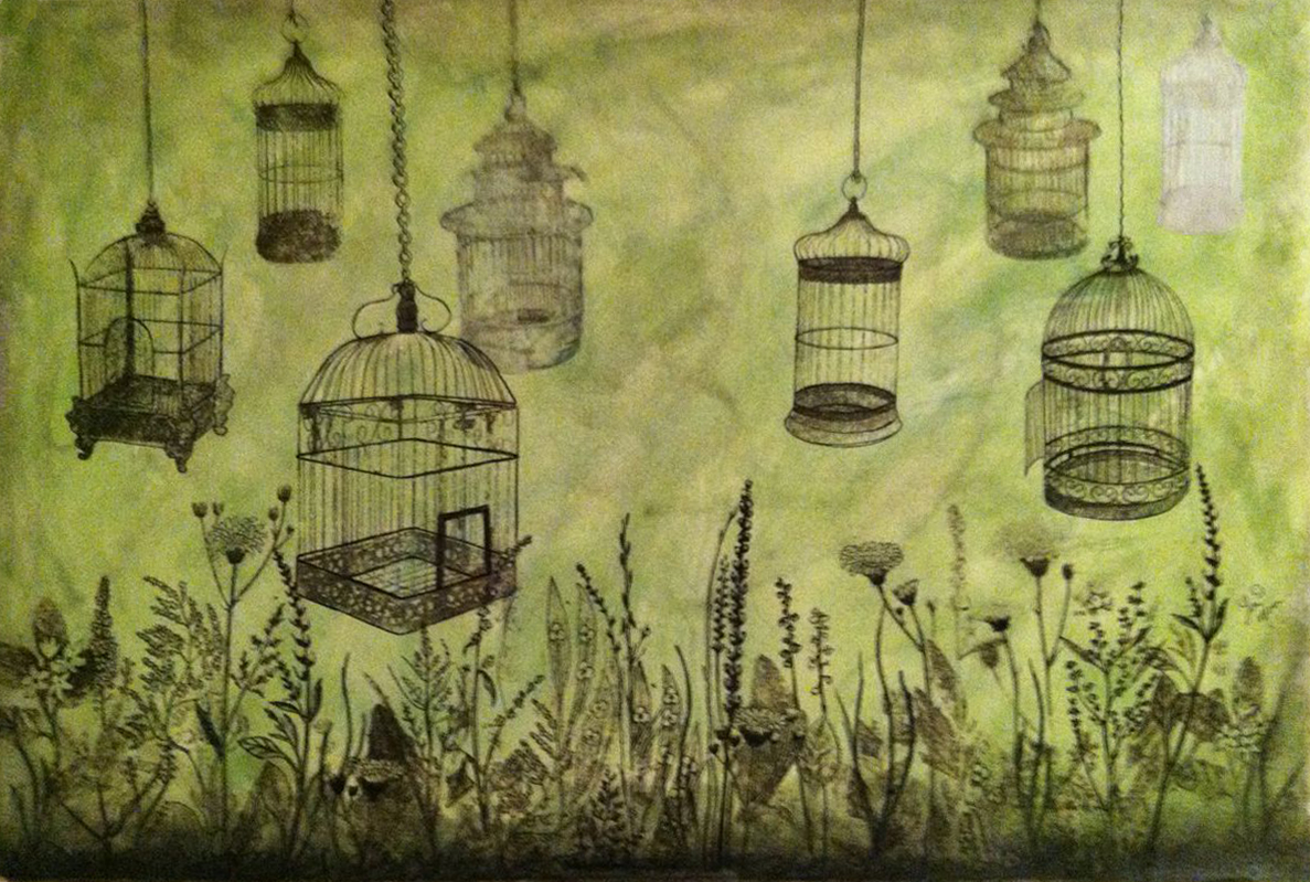 """Caged In"" by Lori Moore"