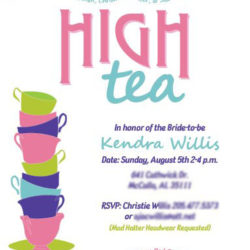 Invites - Kendra's Tea