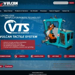 Vulcan Engineering Co. - Full Website Design