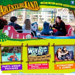 Adventureland Wesbite redesign