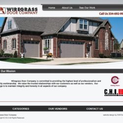 Wiregrass Door Co. - Website