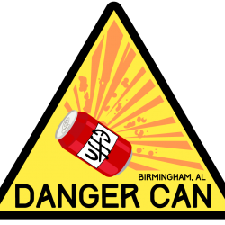 Patch & Sticker - Danger Can