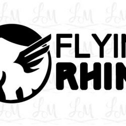 Crossfit Logo - Flying Rhino