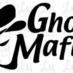 Podcast Logo draft - Ghost Mafia
